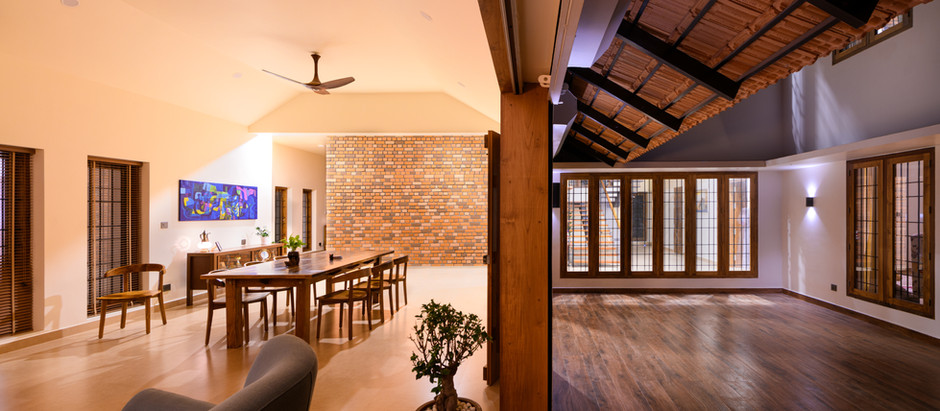This House in Kottayam is Based on the Philosophy of Critical Regionalism