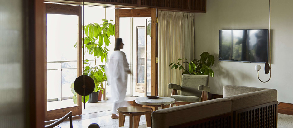 Old Burma Teak Becomes the Chief Material for this House in Mumbai