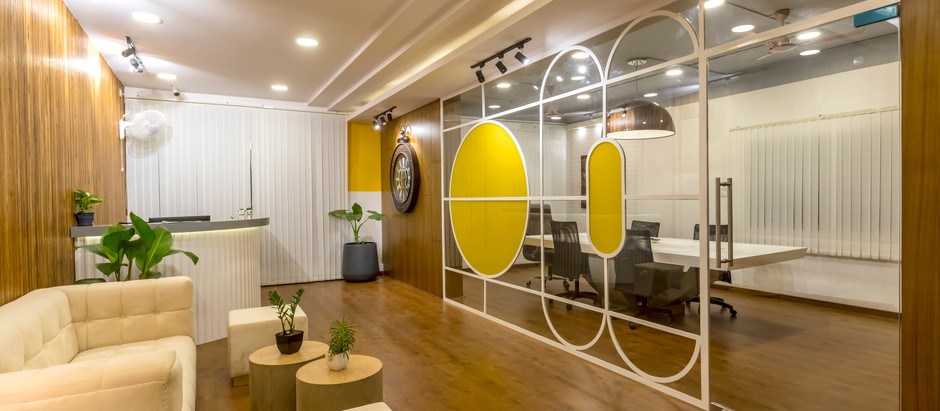 This Office Features Visually Unobtrusive Spaces with a Mix of Industrial Chic Décor