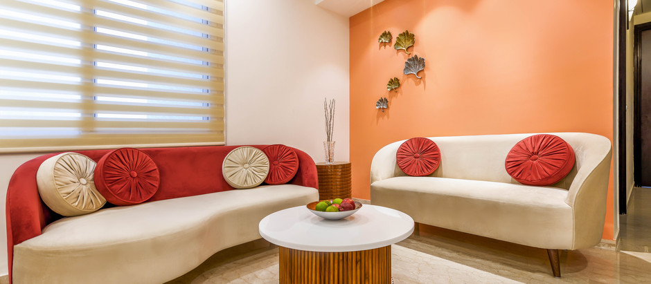 Pantone Color of the Year 2019, Living Coral, Becomes the Star Attraction of This House