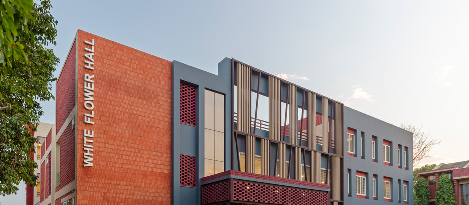 The Mann School's New Girls Hostel Block is Designed to Promote Interaction, Engagement and Growth