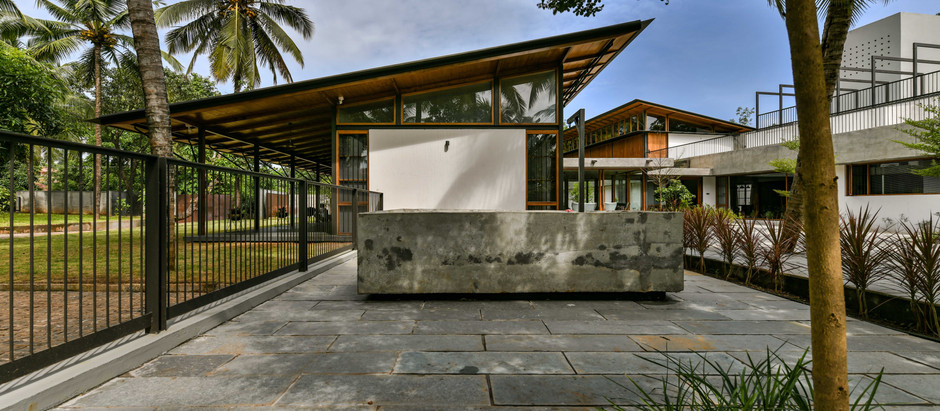 Blending Modern Topical Design and Traditional Architecture