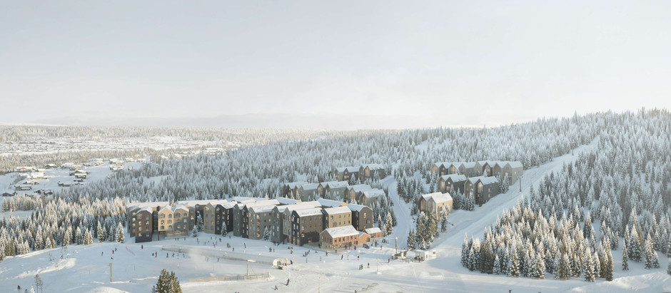 New Ski Resort in Hafjell to Boast Housing for 1000 People