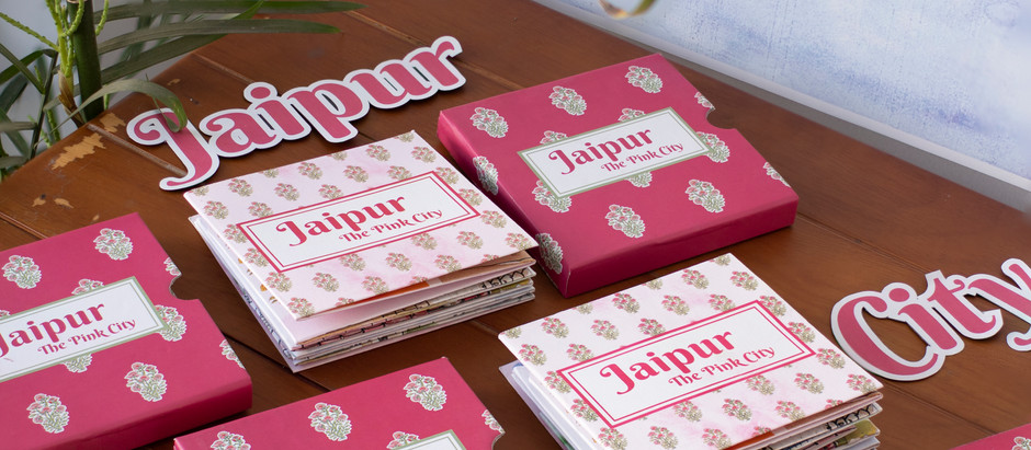 This Product Provides a Pop-Up Tour of the City of Jaipur
