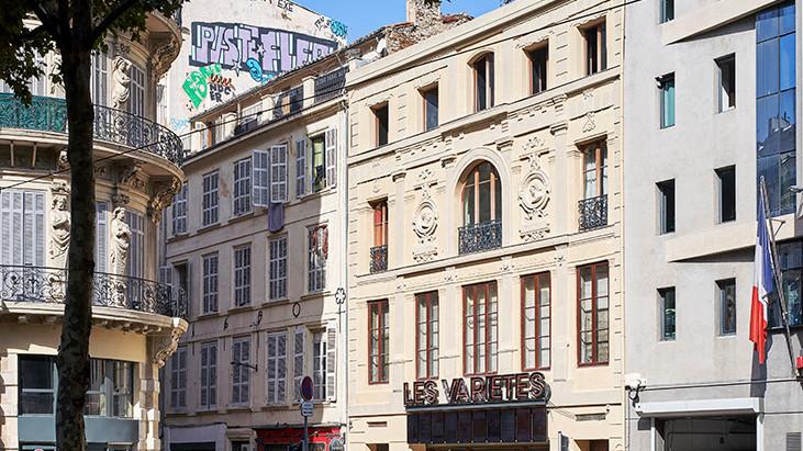 Atelier d'Architecture Lalo Delivers the Restructuring of the Cinema Les Variétés in Marseilles