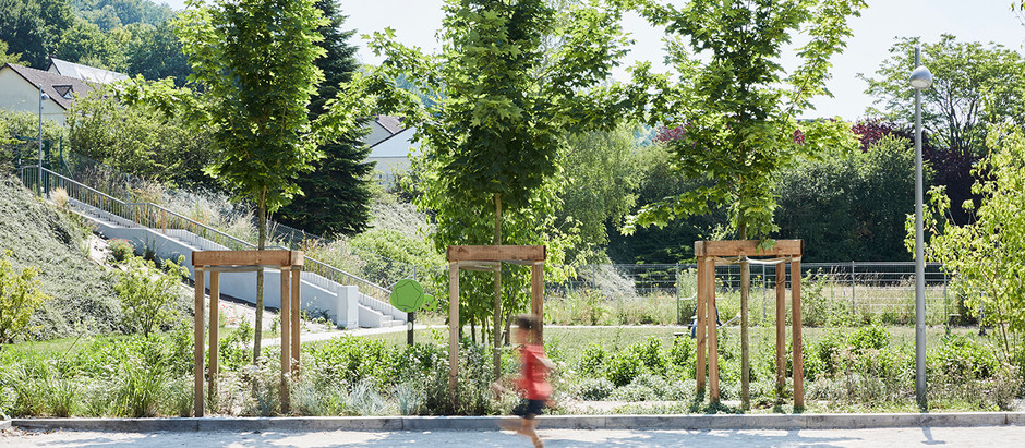 The New 'Open for All' Jesse Owens Park in Grand-Couronne, France