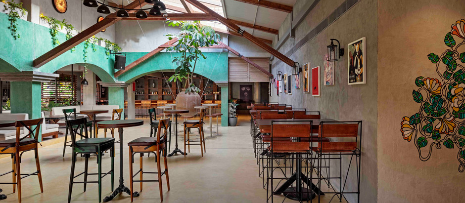 This Spanish Hacienda Styled Bar Should be on Your Go-To List in Bangalore