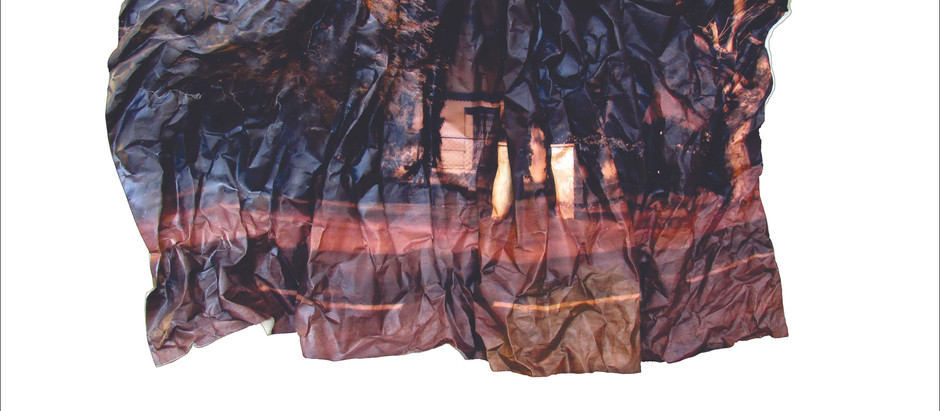 Carefully Crafted Pictures that are Exaggerated, Crumpled and Reinforced by Fiber