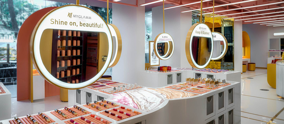 MyGlamm Launches India's Largest Beauty Experiential Store in Mumbai!