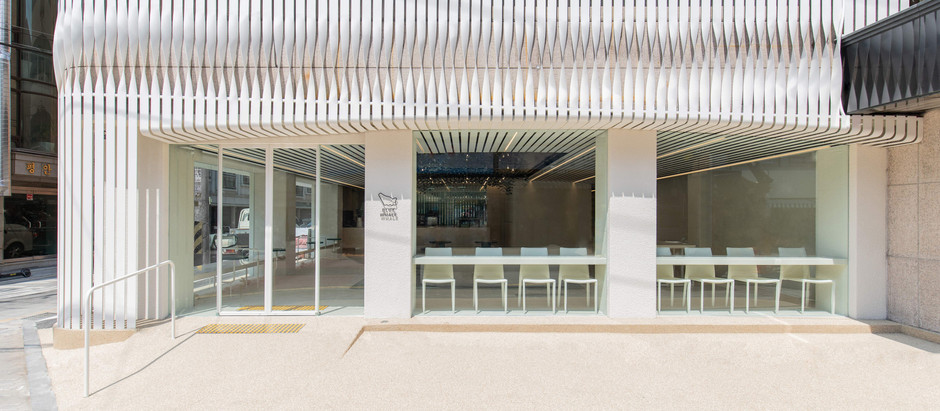 This Café is Inspired by the Heavy and Peaceful Movements of the Magnificent Blue Whale