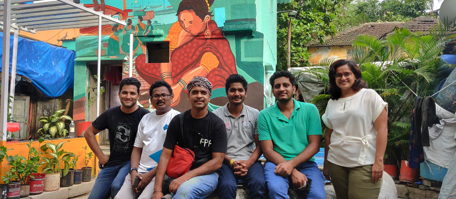 Art Interventions Light Up Versova Koliwada
