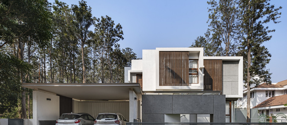 This House in Bangalore Seamlessly Blends into the Serenity of its Location