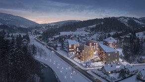 Maciej Franta's Hotel Wisła in Poland Wins at the 38th Cycle of the WA Awards