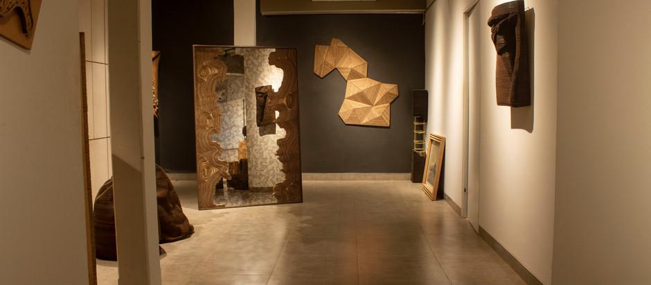 Artist Bandana Jain Creates Extraordinary Works of Art from Corrugated Cardboard