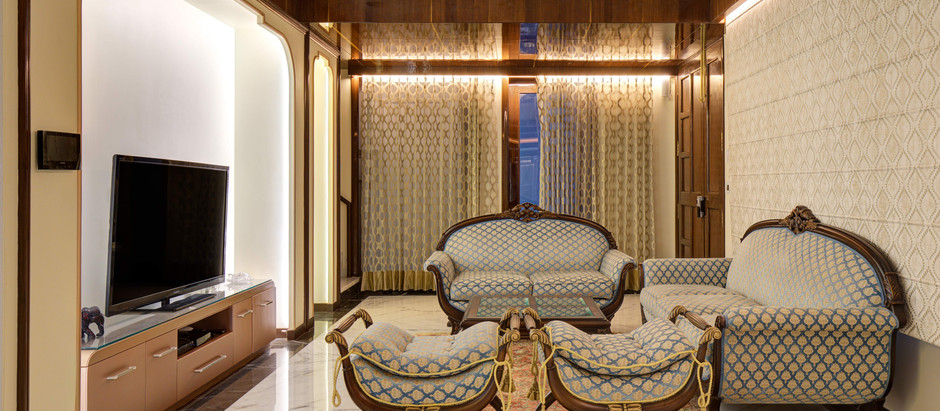 This Royal Themed Apartment in Jaipur Boasts a Luxurious and Artistic Interior Fit-Out