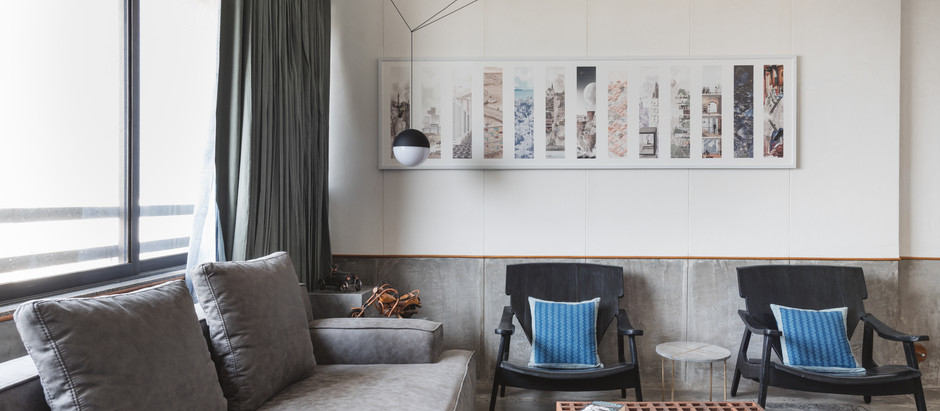 A Rustic And Modern Architect's Abode Without Any Walls