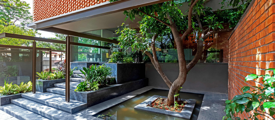 Nature Becomes an Integral Experiential Part of this Office Building in Bangalore