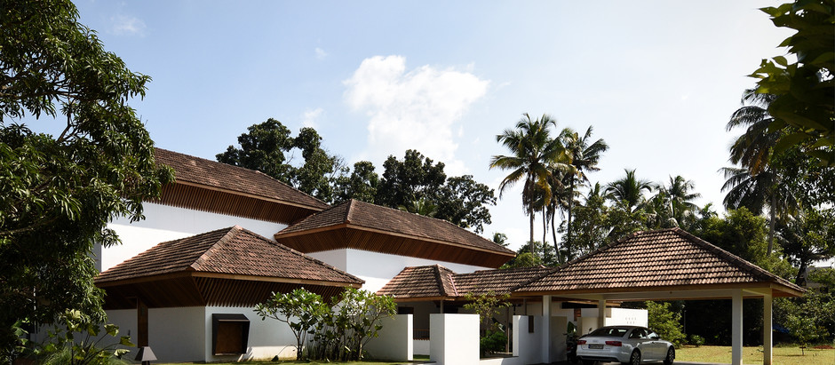 A Contemporary Take on the Traditional Courtyard Houses of Kerala