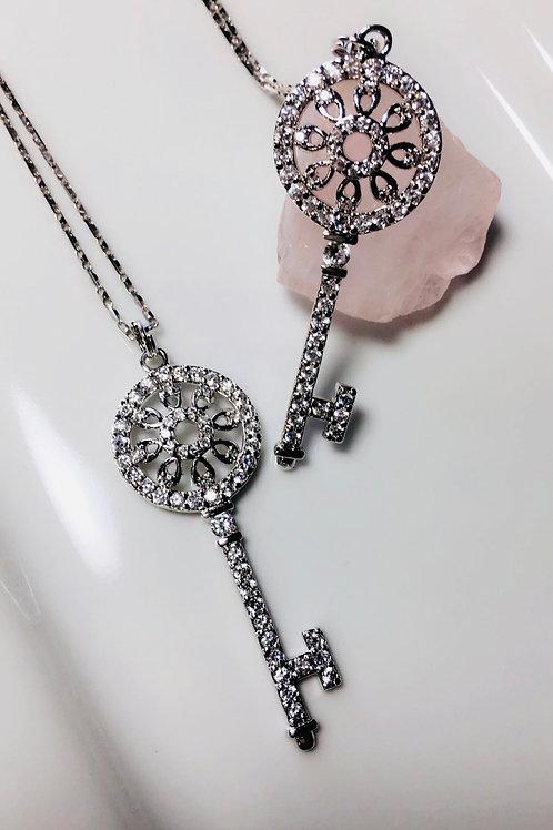 Diana's Vintage Key Pendant