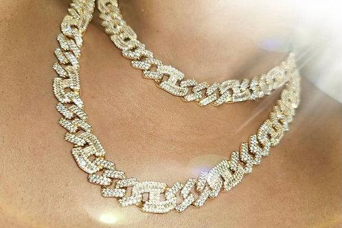 Monica Marine Anchor Necklace