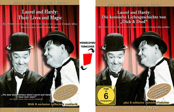"""""""Laurel und Hardy: Die komische Liebesgeschichte von 'Dick & Doof'"""" - DC-2 DVDs"""
