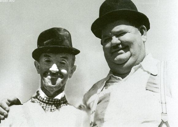 "Postkarte: Laurel & Hardy Atoll ""K."""