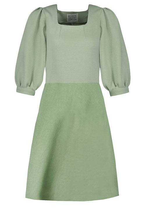 Dress Fern & Sunflower short