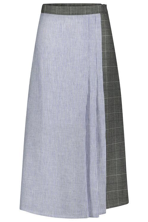 Granny Skirt Patch - stripes