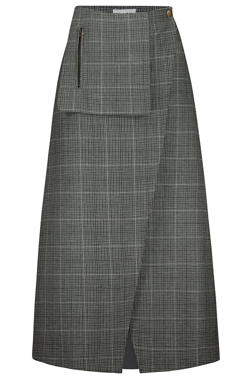 Wrap Skirt check