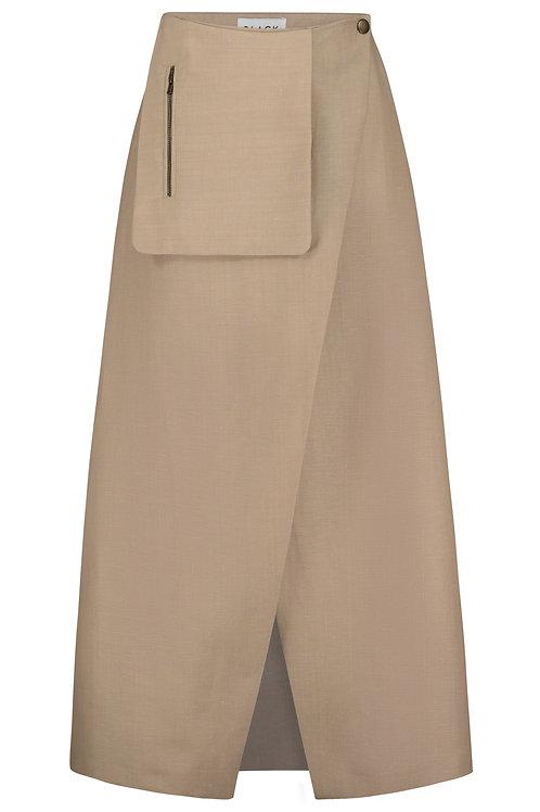 Wrap Skirt creme