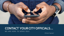 Contact your City Officials