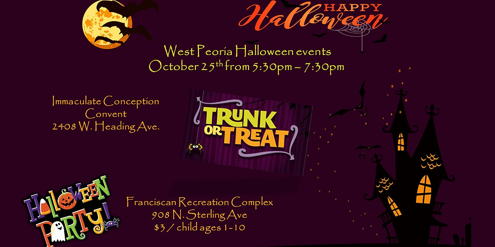 Trunk or Treat and Halloween Party