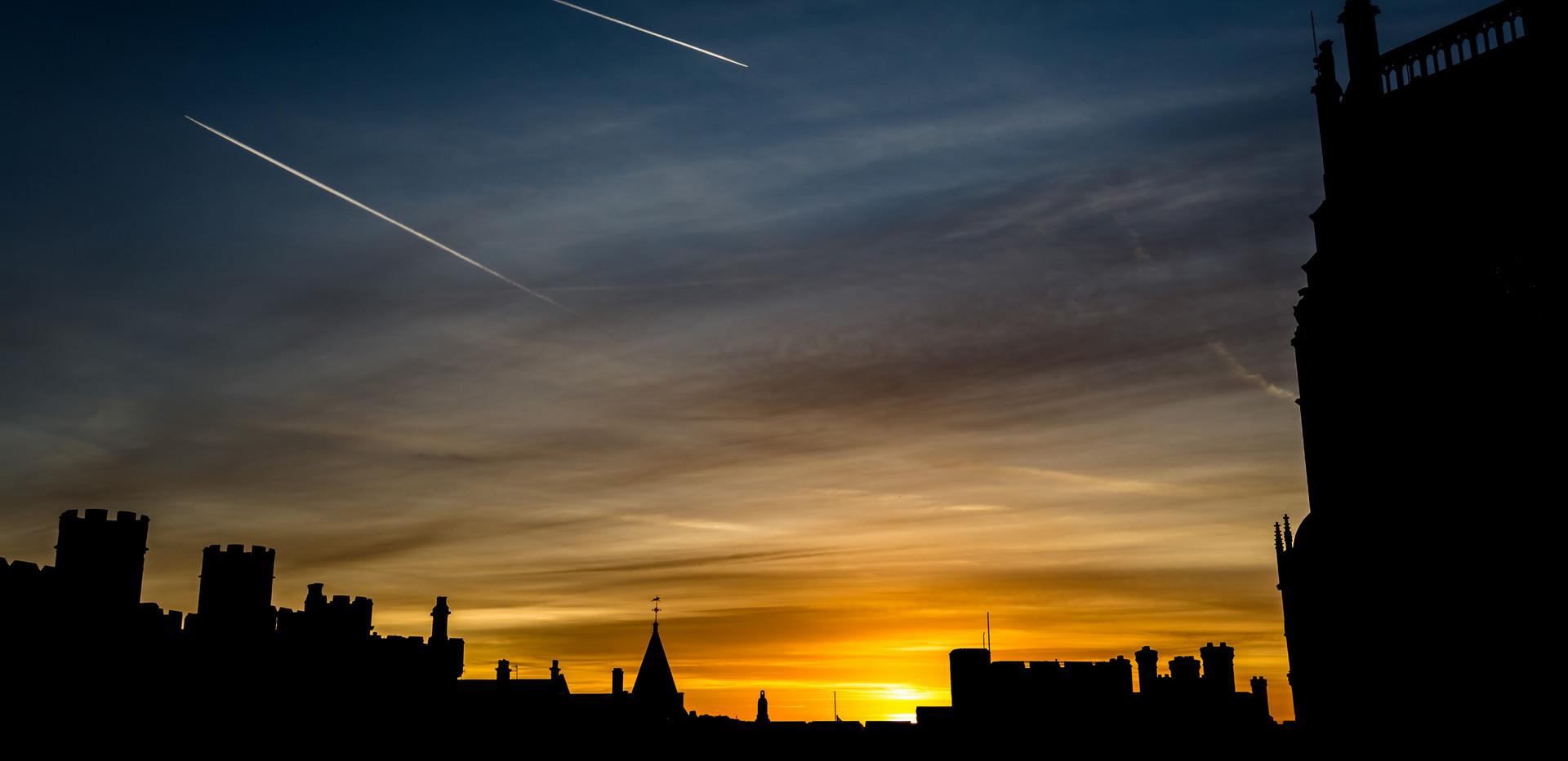 Windsor Castle Sunset