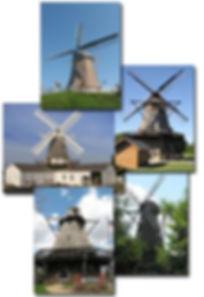 Illinois Windmills Fabyan Geneva Fischer Elmhurst De Immigrant Fulton Prairie Mills Golden Emminga Peotone Rathje