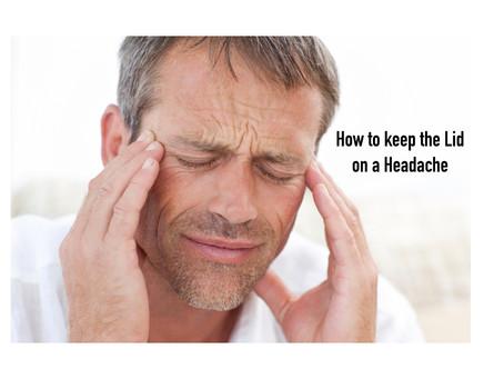 Migraines, Tension, Stress?