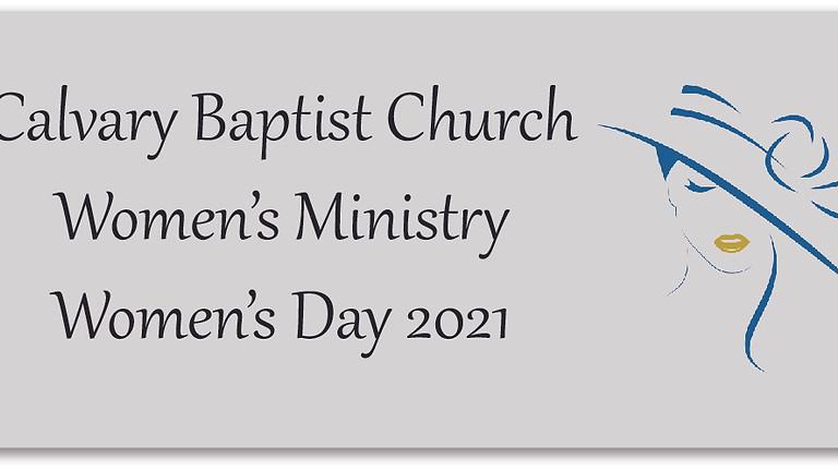 Women's Ministry Women's Day Worship Service