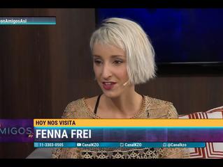 Fenna Frei visitó 'Con Amigos Así'