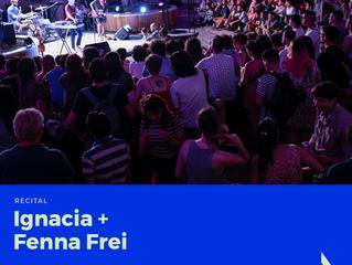 Ignacia + Fenna Frei en el CC Recoleta el Miércoles 21 de Marzo