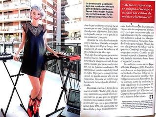 Fenna Frei en Revista Caras
