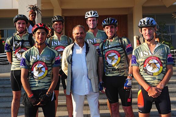 Tour De Timor ISF Team Jose Ramos Horta