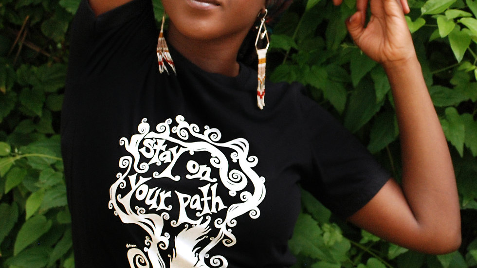 """Stay on Your Path"" Tee - Settle Dawn"