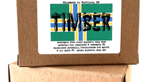 Timber Natural Glycerin Soap