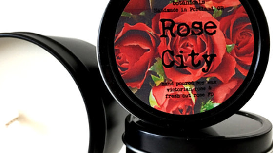 Rose City Scented Soy Candle