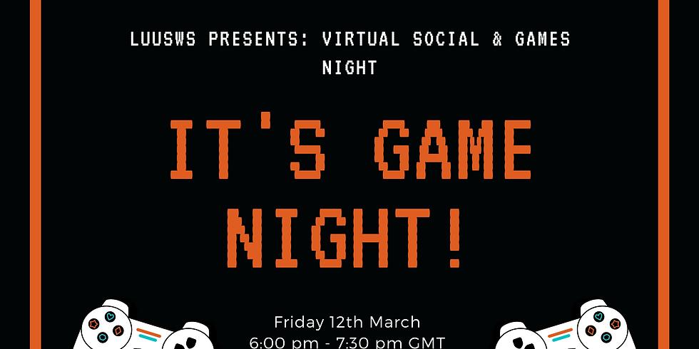 LUUSWS: Virtual Games Night