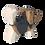 Thumbnail: Dog-handmade wooden animal