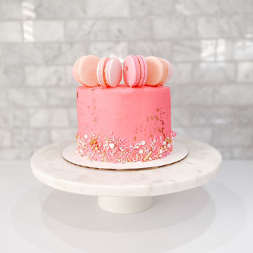 Macaron Crown Cake