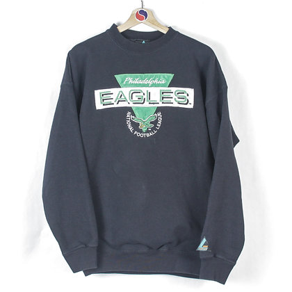 90's Philadelphia Eagles Crewneck - L