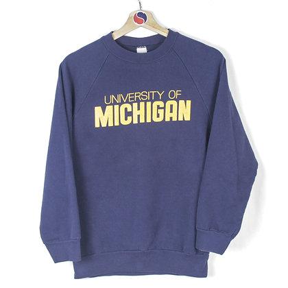 80's University Of Michigan Crewneck - S
