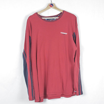 90's Tommy Jeans Long Sleeve - XXL