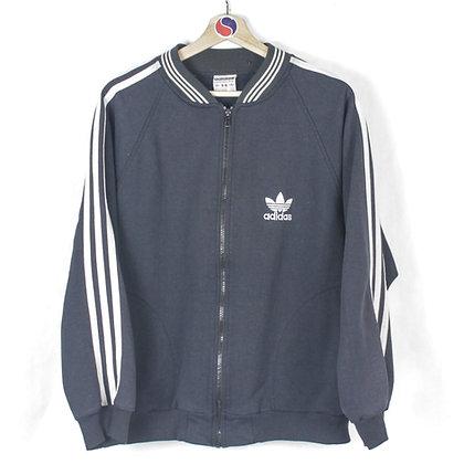 90's Adidas Zip Sweatshirt - S